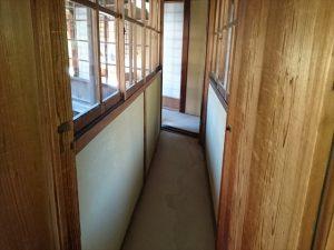 戸定邸の廊下